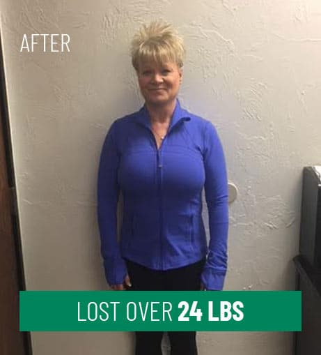 After Losing Over 24 lbs