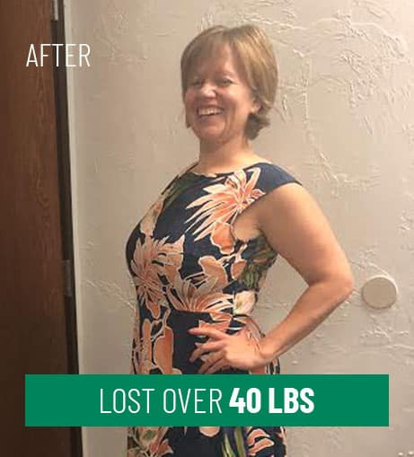 After Losing 40 lbs