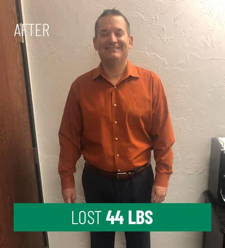 Lost 44 lbs After
