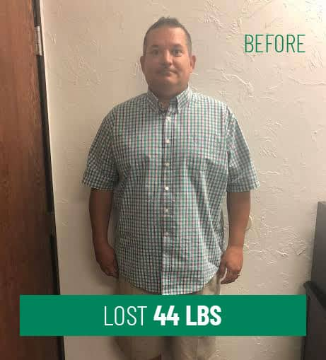 Lost 44 lbs Before